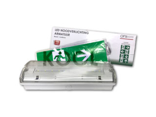LED, emergency lighting armatuur