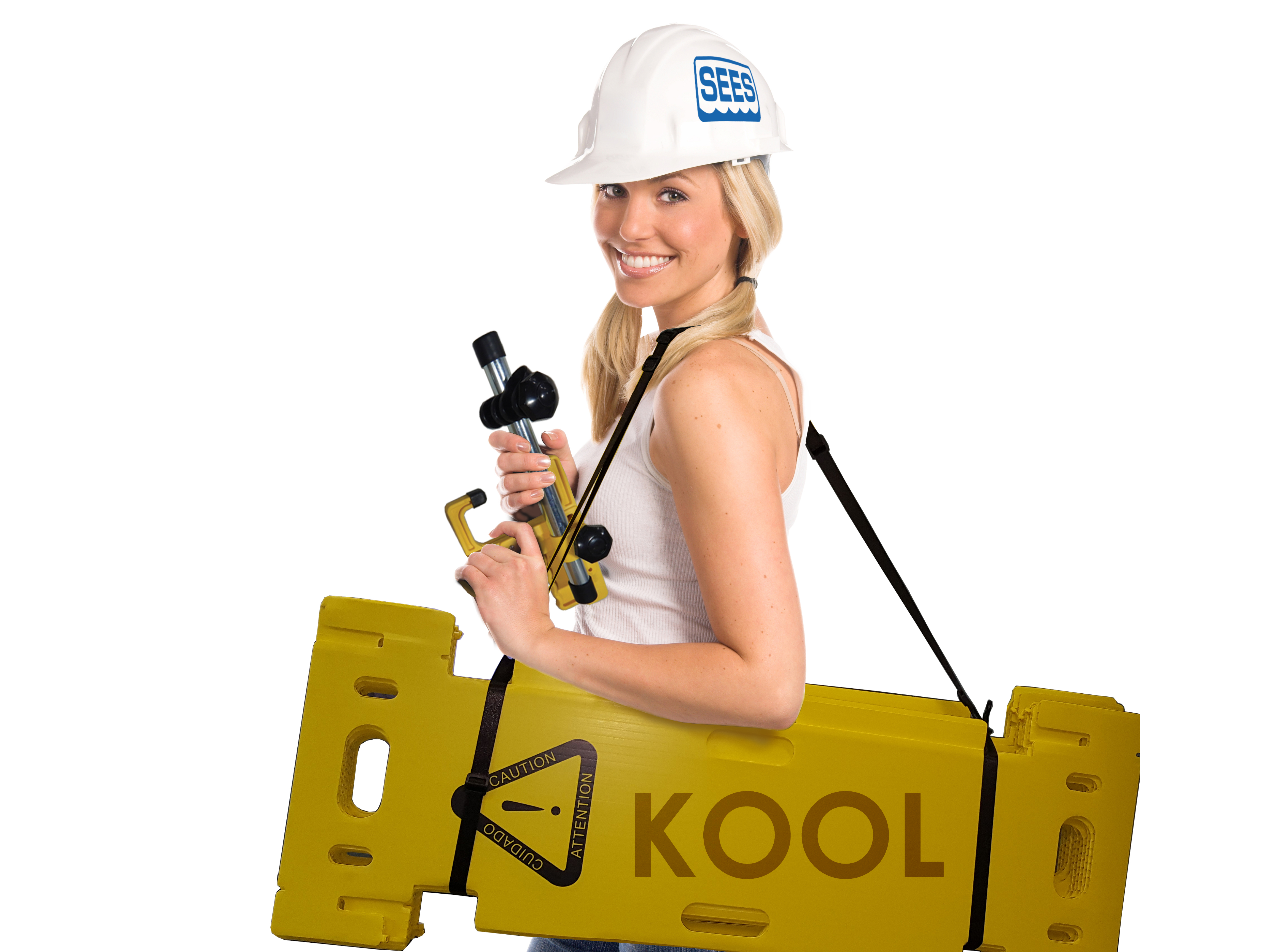 Kool / Sees, foldable safety barricade